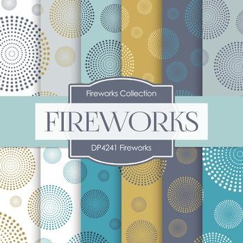 Digital Papers - Fireworks (DP4241)