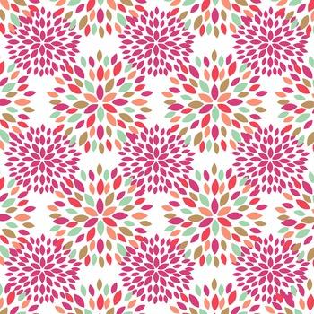 Digital Papers Flower Fireworks Scrapbooking Paper