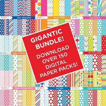 95% OFF - GIGANTIC BUNDLE - Grab All My Digital Papers!