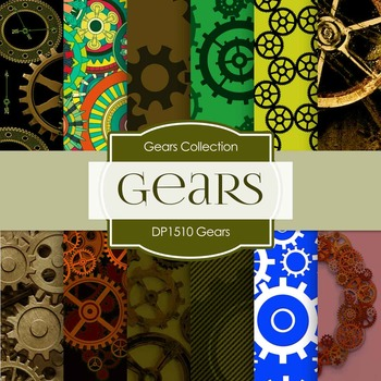 Digital Papers - Gears (DP1510)