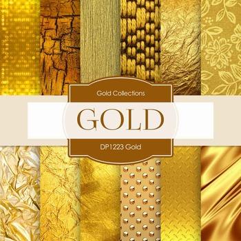 Digital Papers - Gold (DP1223)