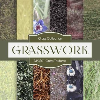 Digital Papers - Grass Textures (DP3701)