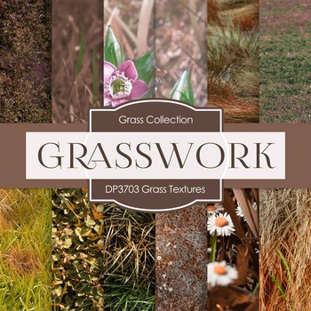 Digital Papers - Grass Textures (DP3703)
