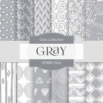 Digital Papers - Gray (DP4869)