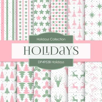 Digital Papers - Holidays (DP4953B)