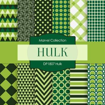 Digital Papers - Hulk (DP1807)