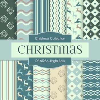 Digital Papers - Jingle Bells (DP4895A)