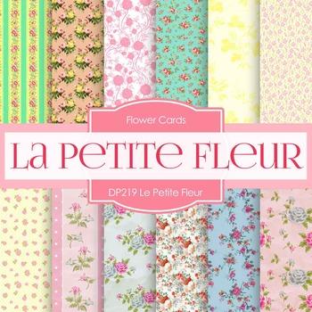 Digital Papers - Le Petite Fleur (DP219)