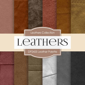 Digital Papers -  Leather Palette (DP2455)