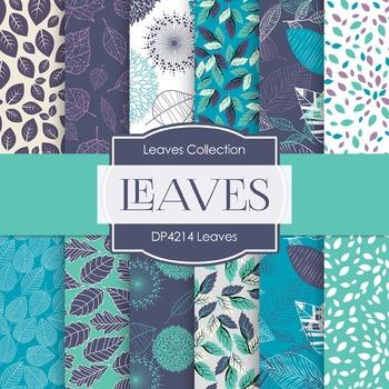 Digital Papers - Leaves (DP4214)