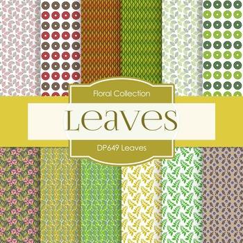 Digital Papers - Leaves (DP649)