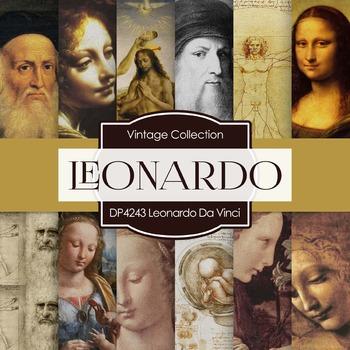 Digital Papers - Leonardo Da Vinci (DP4243)
