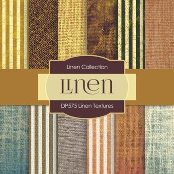 Digital Papers - Linen Textures  (DP575)