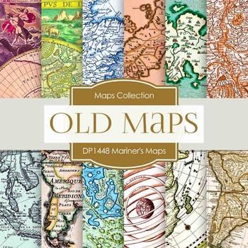 Digital Papers -  Mariners Maps (DP1448)