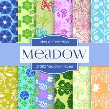 Digital Papers -  Meadow Papers (DP282)