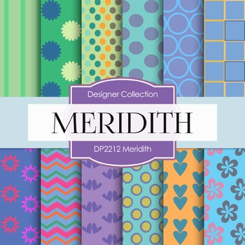 Digital Papers - Meredith (DP2212)