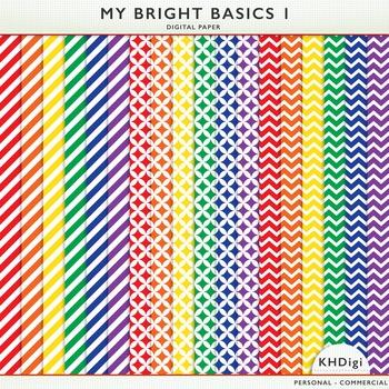 Digital Papers - My Bright Basics 1