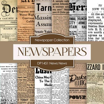 Digital Papers -  News News (DP1451)