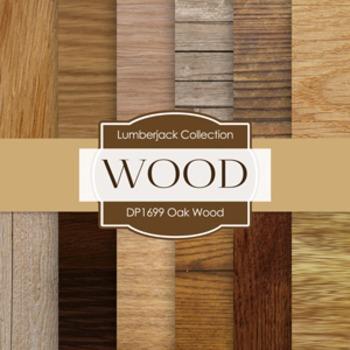 Digital Papers -  Oak Wood (DP1699)