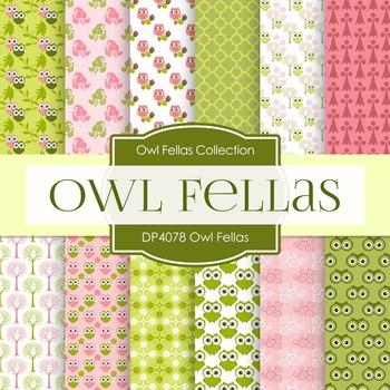 Digital Papers - Owl Fellas (DP4078)