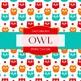 Digital Papers - Owl Girls (DP4961)