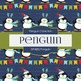 Digital Papers - Penguin (DP4882)