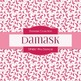 Digital Papers - Pink Damask (DP4861)