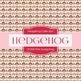 Digital Papers - Pink Hedgehog (DP204)