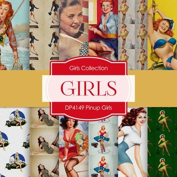 Digital Papers - Pinup Girls (DP4149)