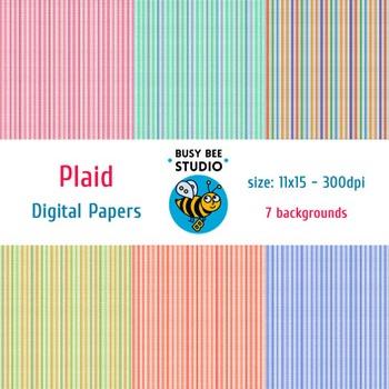 Digital Papers: Plaid