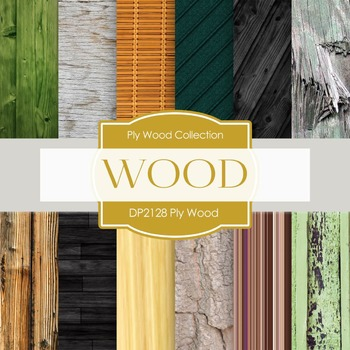 Digital Papers - Plywood (DP2128)