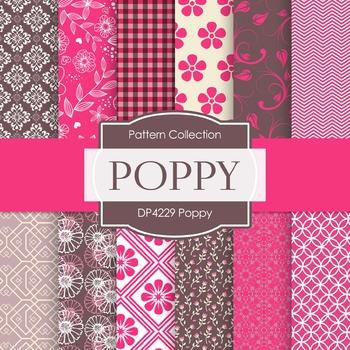 Digital Papers - Poppy (DP4229)