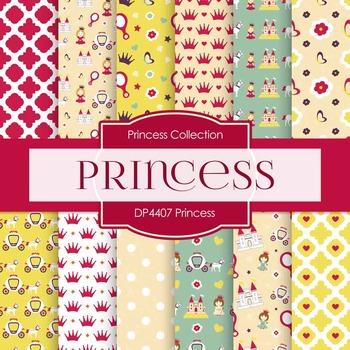 Digital Papers - Princess (DP4407)