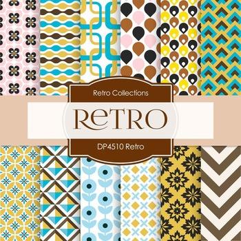 Digital Papers - Retro (DP4510)