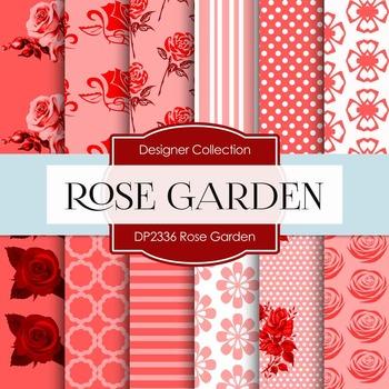 Digital Papers - Rose Garden (DP2336)