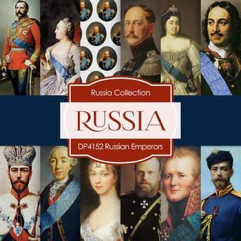 Digital Papers - Russian Emperors (DP4152)