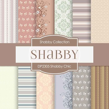 Digital Papers - Shabby Chic (DP2305)