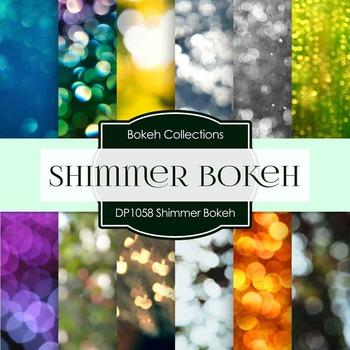 Digital Papers - Shimmer Bokeh (DP1058)
