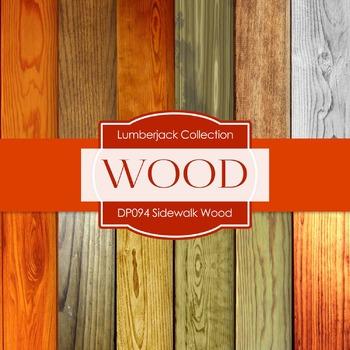 Digital Papers - Sidewalk Wood (DP094)