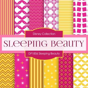 Digital Papers - Sleeping Beauty (DP1856)