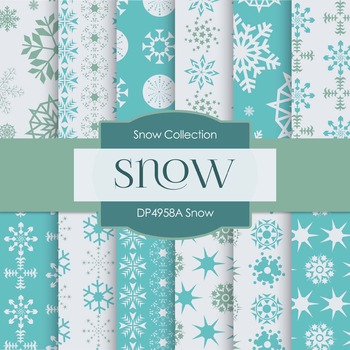 Digital Papers - Snow (DP4958A)