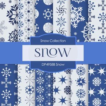 Digital Papers - Snow (DP4958B)