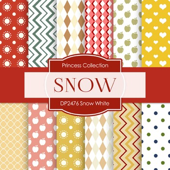 Digital Papers -  Snow White (DP2476)