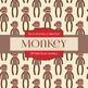 Digital Papers - Sock Monkey (DP1843)