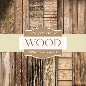 Digital Papers - Spruce Wood (DP1631)