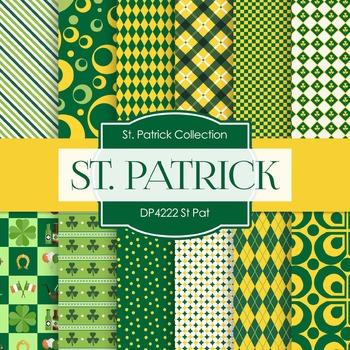 Digital Papers - St Pat (DP4222)