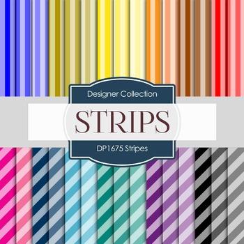 Digital Papers - Stripes (DP1675)