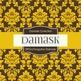Digital Papers - Tangerine Damask (DP516)