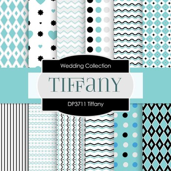 Digital Papers - Tiffany (DP3711)