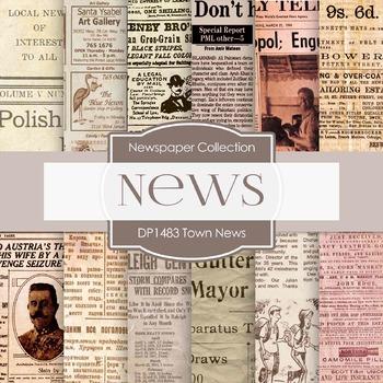 Digital Papers -  Town News (DP1483)